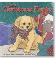 The Christmas Puppy Interior Illustrations