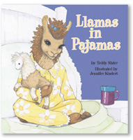 Llamas in Pajamas Interior Illustrations
